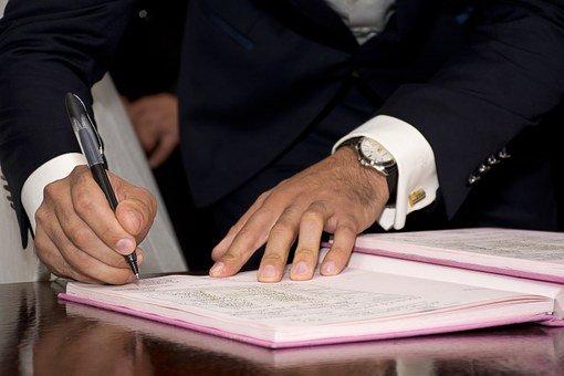 Compromis de vente - signature